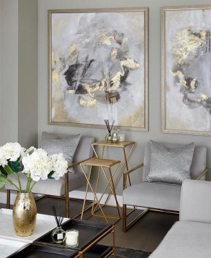 Fancy Gold Color Interior Design Ideas For Your Home Style To Copy 36