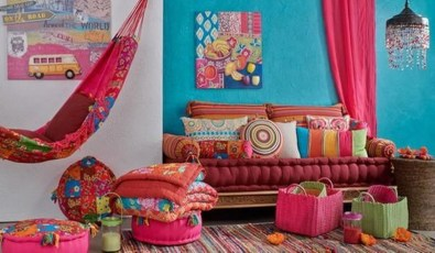 Gorgeous Colorful Bohemian Spring Porch Update For Your Inspire 01