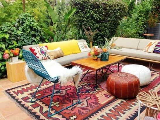 Gorgeous Colorful Bohemian Spring Porch Update For Your Inspire 26