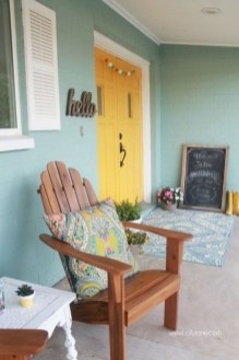 Gorgeous Colorful Bohemian Spring Porch Update For Your Inspire 28