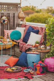 Gorgeous Colorful Bohemian Spring Porch Update For Your Inspire 29