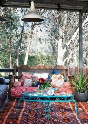 Gorgeous Colorful Bohemian Spring Porch Update For Your Inspire 44