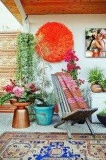 Gorgeous Colorful Bohemian Spring Porch Update For Your Inspire 45