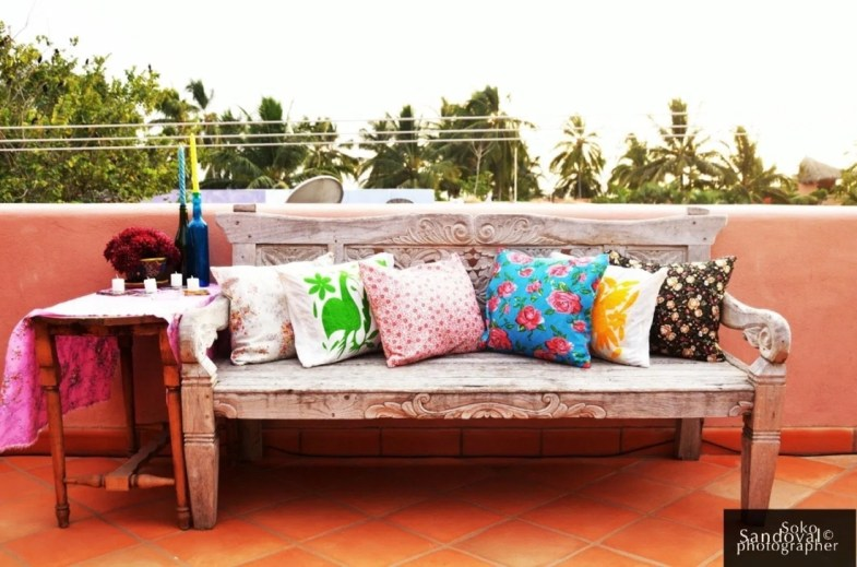 Gorgeous Colorful Bohemian Spring Porch Update For Your Inspire 50