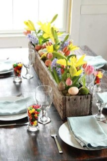 Inspirational Easter Decorations Ideas To Impress Your Guests 41