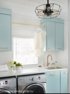 Inspiring Laundry Room Design With French Country Style 16
