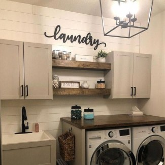 Inspiring Laundry Room Design With French Country Style 18