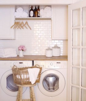 Inspiring Laundry Room Design With French Country Style 20