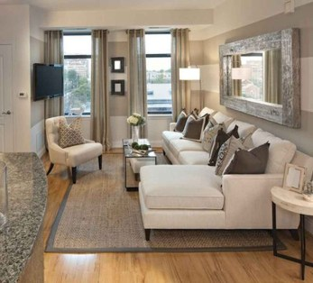 Popular Ways To Efficiently Arrange Furniture For Small Living Room 12