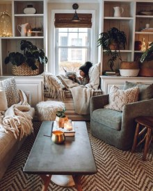 Popular Ways To Efficiently Arrange Furniture For Small Living Room 23