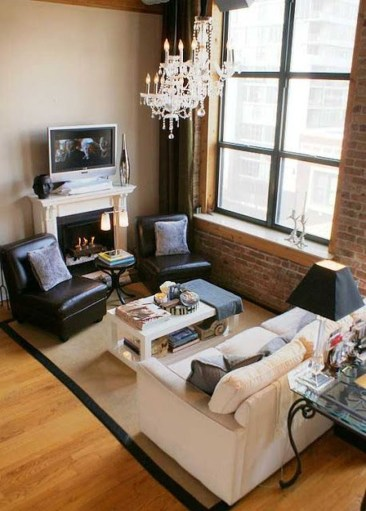Popular Ways To Efficiently Arrange Furniture For Small Living Room 36