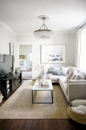 Popular Ways To Efficiently Arrange Furniture For Small Living Room 41