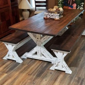Rustic Farmhouse Table Ideas To Use In The Decor 04