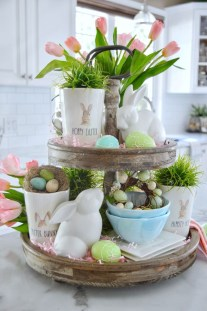 Superb Easter Indoor Decoration Ideas For Your Home 05