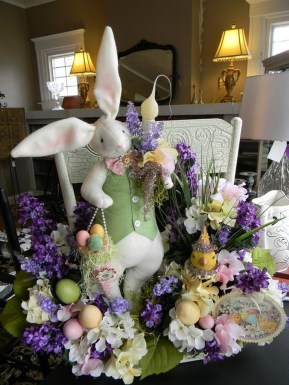 Superb Easter Indoor Decoration Ideas For Your Home 18
