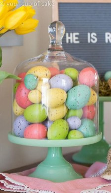 Superb Easter Indoor Decoration Ideas For Your Home 33