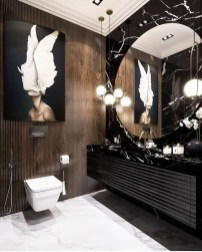 Unordinary Bathroom Design Ideas With Stunning Wood Shades 02