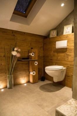 Unordinary Bathroom Design Ideas With Stunning Wood Shades 15