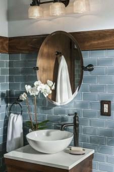 Unordinary Bathroom Design Ideas With Stunning Wood Shades 41