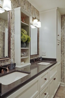 Astonishing Bathroom Design Ideas With Amazing Storage 09