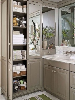 Astonishing Bathroom Design Ideas With Amazing Storage 26