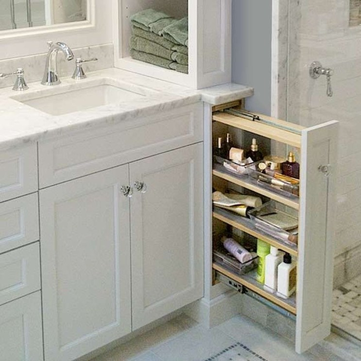Astonishing Bathroom Design Ideas With Amazing Storage 33