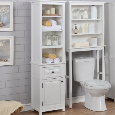 Astonishing Bathroom Design Ideas With Amazing Storage 35