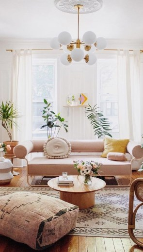 Cute Pastel Living Room Design Ideas That You Should Have 06