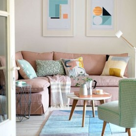 Cute Pastel Living Room Design Ideas That You Should Have 15