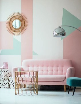 Cute Pastel Living Room Design Ideas That You Should Have 27