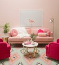 Cute Pastel Living Room Design Ideas That You Should Have 30