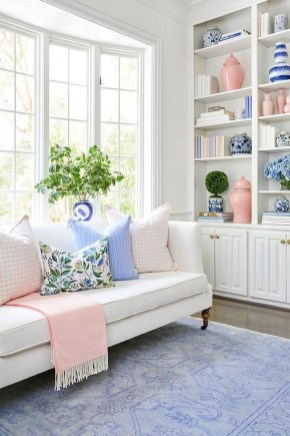 Cute Pastel Living Room Design Ideas That You Should Have 36