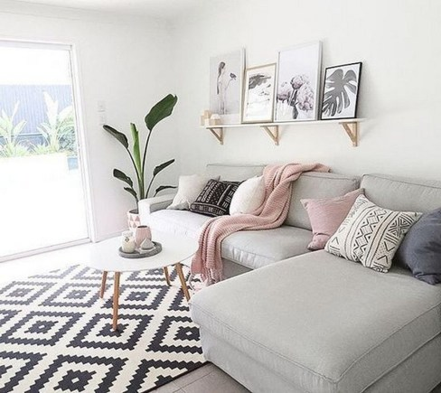 Cute Pastel Living Room Design Ideas That You Should Have 37