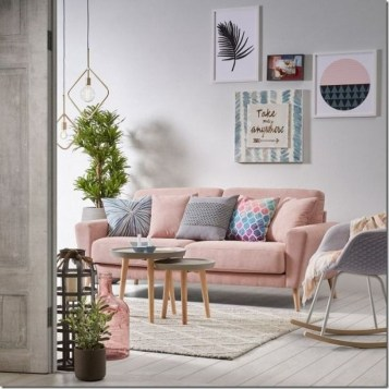 Cute Pastel Living Room Design Ideas That You Should Have 38