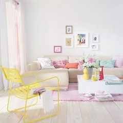 Cute Pastel Living Room Design Ideas That You Should Have 45