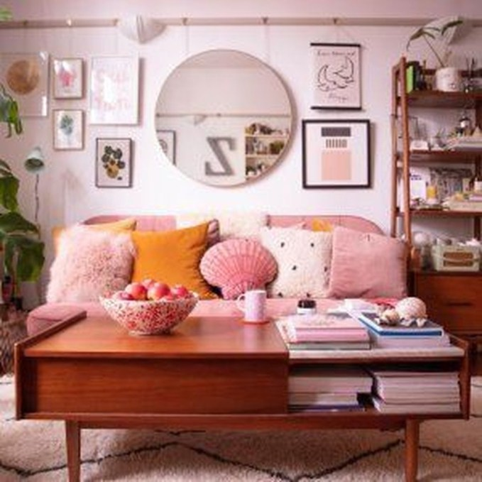 Cute Pastel Living Room Design Ideas That You Should Have 52