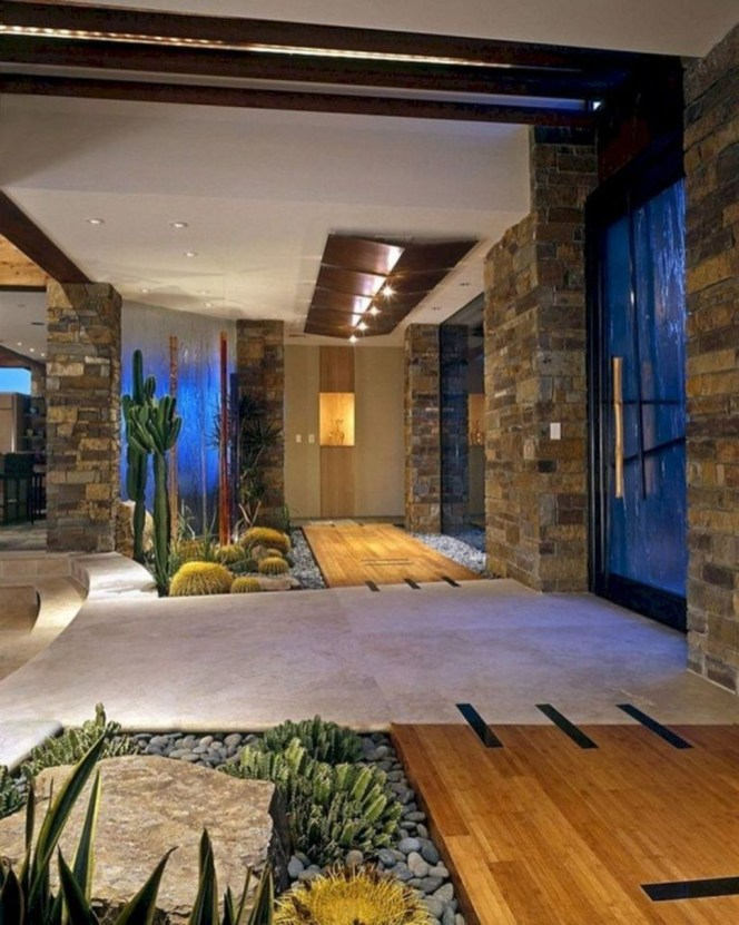 Elegant Indoor Rock Garden Ideas That Can Enhance Your Home Style 32