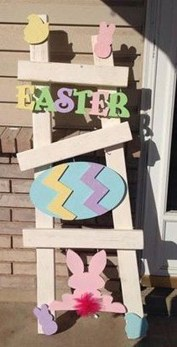 Gorgeous Outdoor Easter Decorations To Bedeck Your House In Style 08