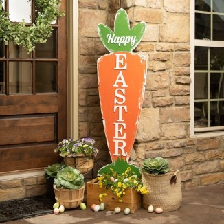 Gorgeous Outdoor Easter Decorations To Bedeck Your House In Style 20