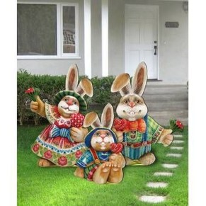 Gorgeous Outdoor Easter Decorations To Bedeck Your House In Style 47