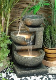 Innovative DIY Backyard Waterfall Ideas To Beautify Your Home Garden 03