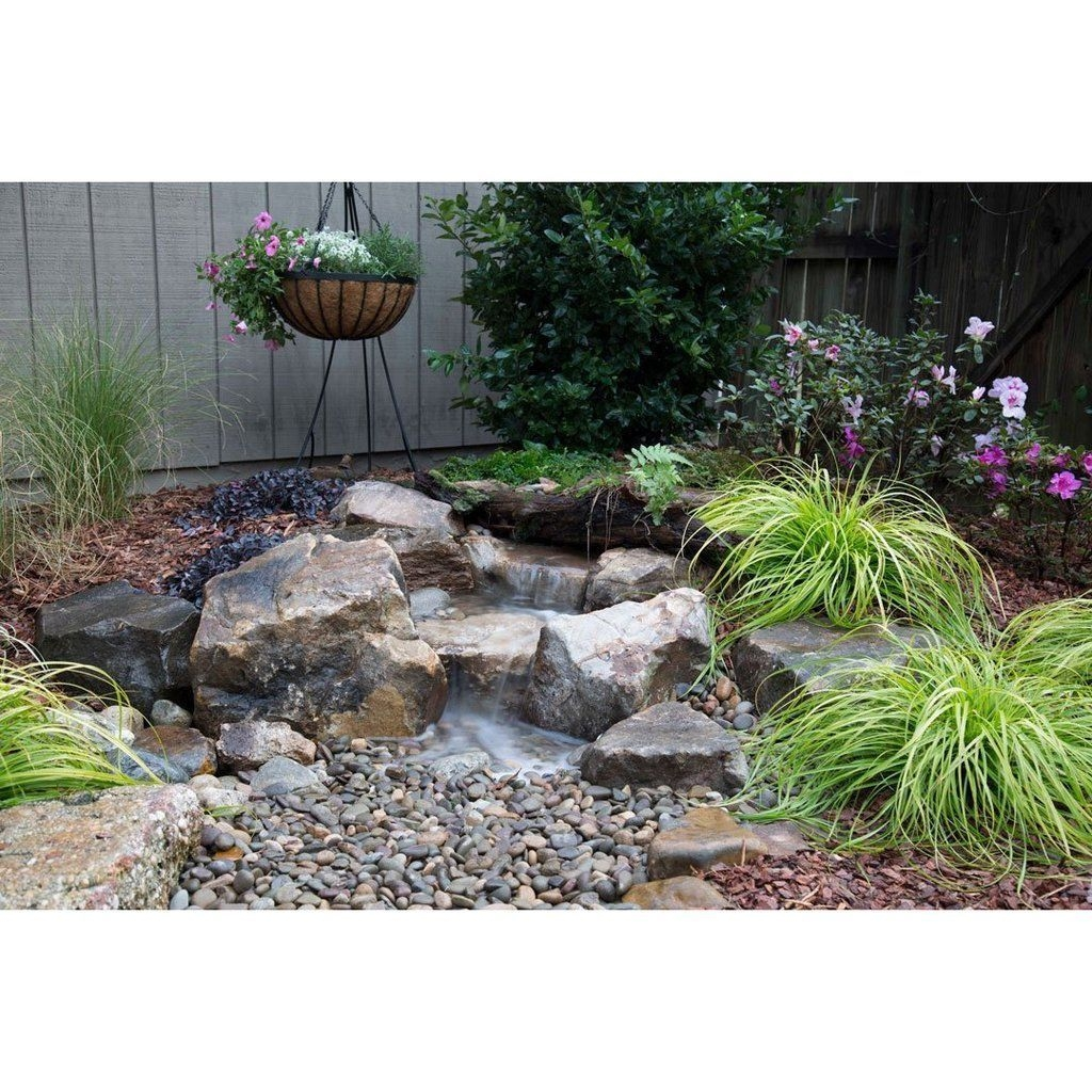 Innovative DIY Backyard Waterfall Ideas To Beautify Your Home Garden 40