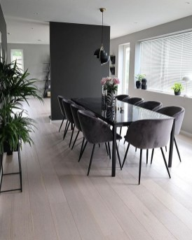 Modern Dining Room Design Ideas That Are Comfortable 06