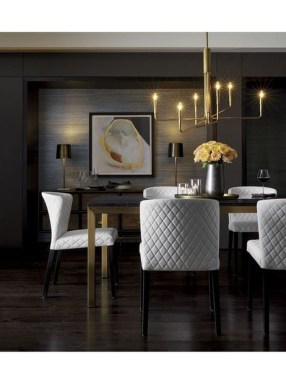 Modern Dining Room Design Ideas That Are Comfortable 31