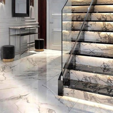 Perfect Home Stair Design With Light That Very Beautiful 07