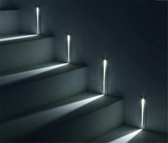 Perfect Home Stair Design With Light That Very Beautiful 18