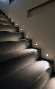 Perfect Home Stair Design With Light That Very Beautiful 19