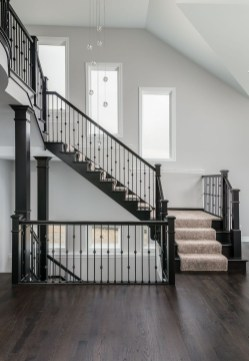 Perfect Home Stair Design With Light That Very Beautiful 32