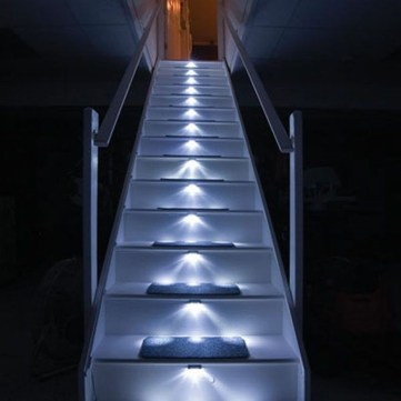 Perfect Home Stair Design With Light That Very Beautiful 34