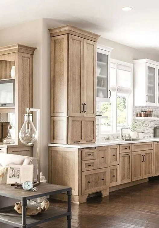 Rustic Wooden Kitchen Design And Decoration Ideas You Need To Try 40